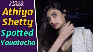Athiya Shetty Spotted At Yauatacha  Restaurant | Klapboard Bollywood