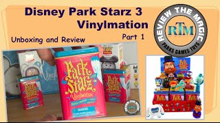 Part 1 Unboxing Disney Vinylmation Park Starz 3  OPENING and REVIEW  Did we really pull that!