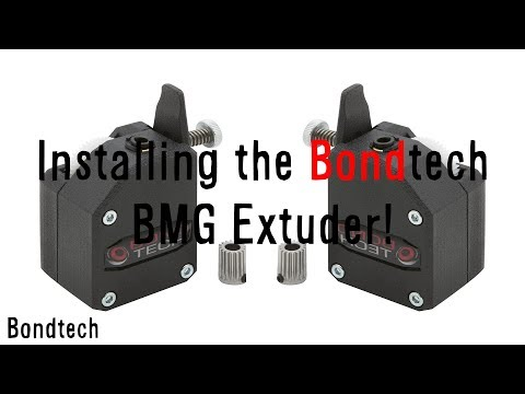 Bondtech BMG Extruder Install on Tevo Tarantula - YouTube