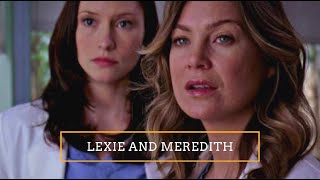 Meredith & Lexie | Their Story (All Scenes)
