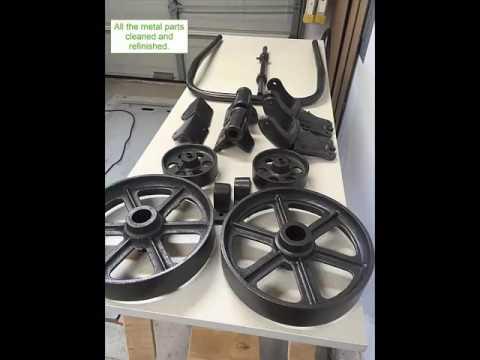 warehouse cart coffee table - youtube