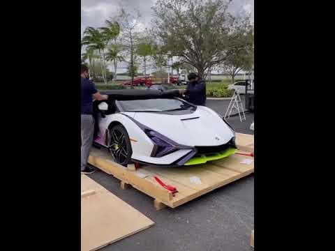 Revealing of Lamborghini Sian