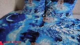 Комплект постельного белья из бязи - модель