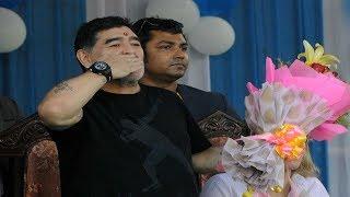 ঈশ্বর নই, সাধারণ ফুটবলার আমি, কলকাতায় এসে জানালেন স্বয়ং মারাদোনা!  ।  Maradona