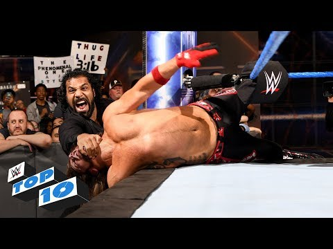 Top 10 SmackDown LIVE moments: WWE Top 10, October 31, 2017