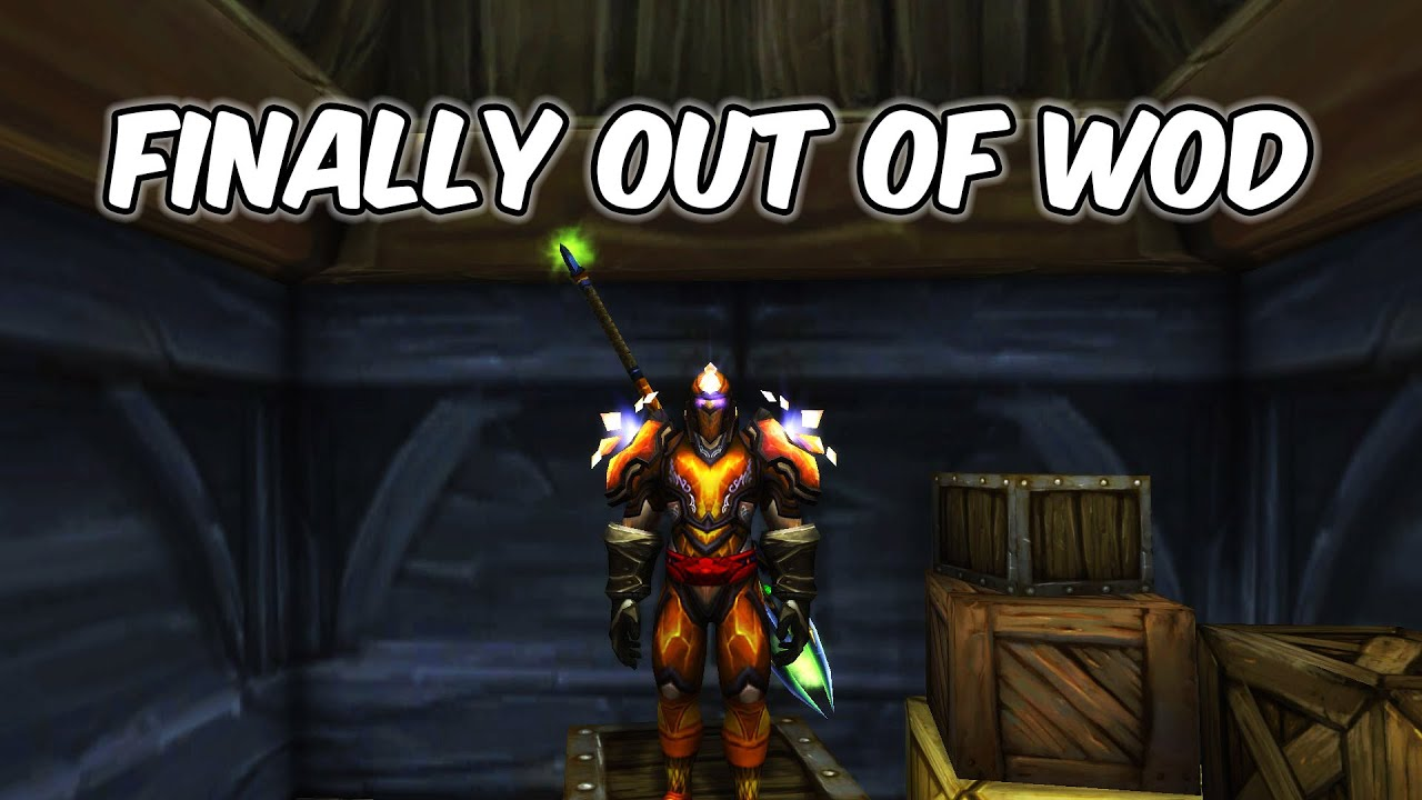 Finally Out of WoD - Alliance Paladin Leveling - WoW BFA 8.3