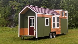 Beautiful Tiny Home Built For Cheap Living