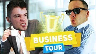 DOBRODZIEJ VS BLADII - MISTYCZNY TURNIEJ! | Business Tour [#37] (With: Dobrodziej)