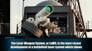Laser weapons of the US military