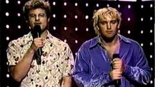 Trey Parker and Matt Stone - 1998 VMAs - Dave Matthews Band