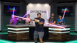Download Lightsaber Accident | Overtime 13 | Dude Perfect Mp3 and Videos