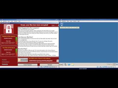 WannaCry Ransomware Using Windows SMB Vulnerability