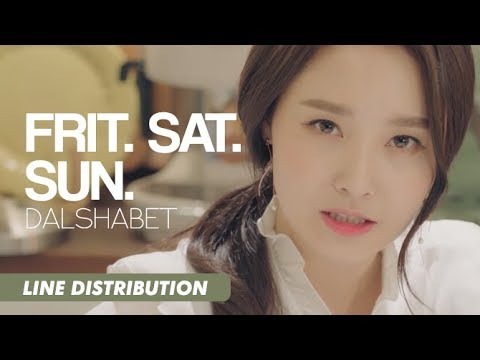 DALSHABET - FRI. SAT. SUN (Line Distribution)
