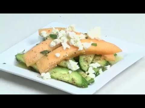 Cucumber Cantaloupe Salad with Chef Allison Davis