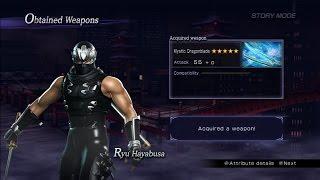Warriors Orochi 3 Ultimate - Ryu Hayabusa Mystic Weapon Guide