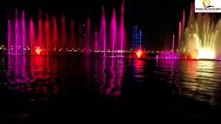 Dubai Sharjah Color Fountains |UAE Visit Visa (Desert Dream Tourism)