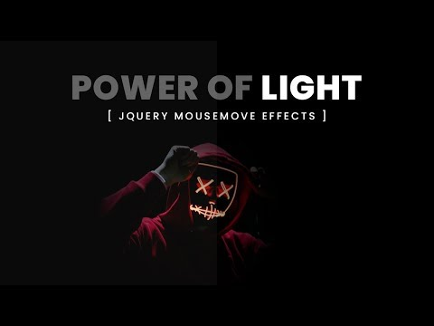 Light | jQuery Mousemove Effects thumbnail