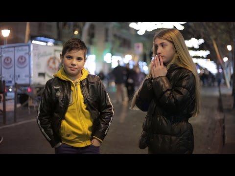 'Dalle uno schiaffo!': le reazioni dei bambini