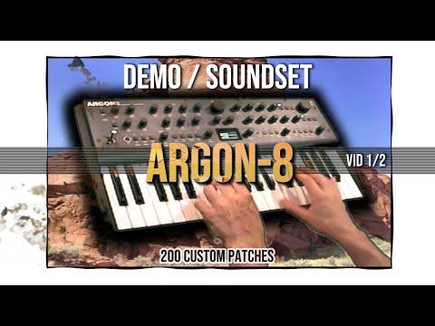 Modal Argon8 - sound demo by Jexus / WC Olo Garb