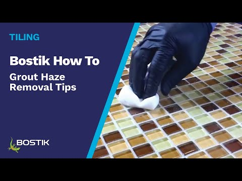 Grout Haze Removal Tips - YouTube