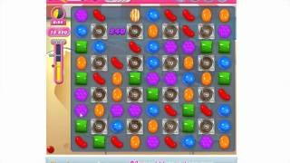 How to play Candy Crush Saga Level 166 - 3 stars - No booster