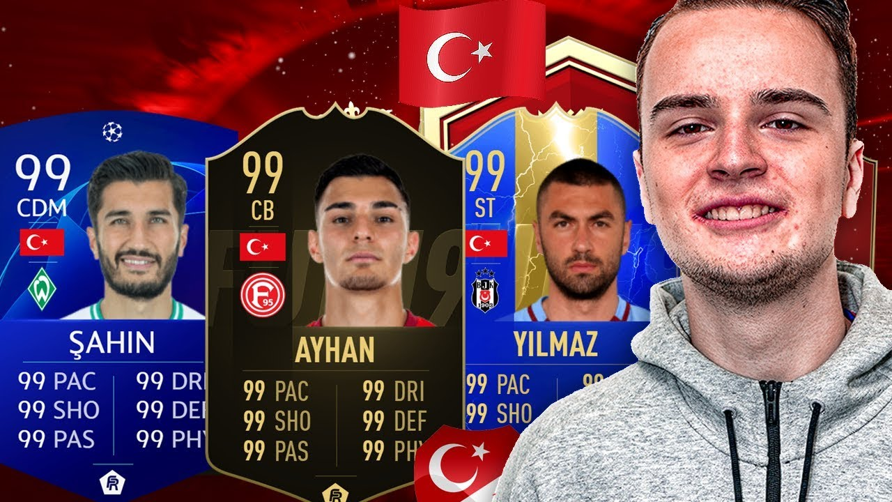 Türkisch Nationalmannschaft
