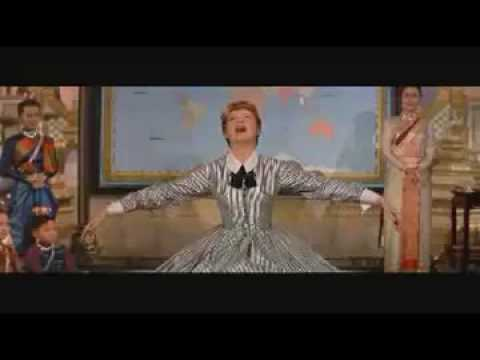 Julie Andrews - Getting to know you