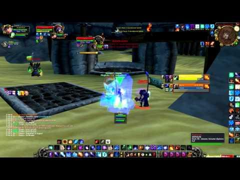 WoW Arena TBC 2.4.3 2vs2 Mage/Shadow vs. Rogue/Dudu (lvl 70)