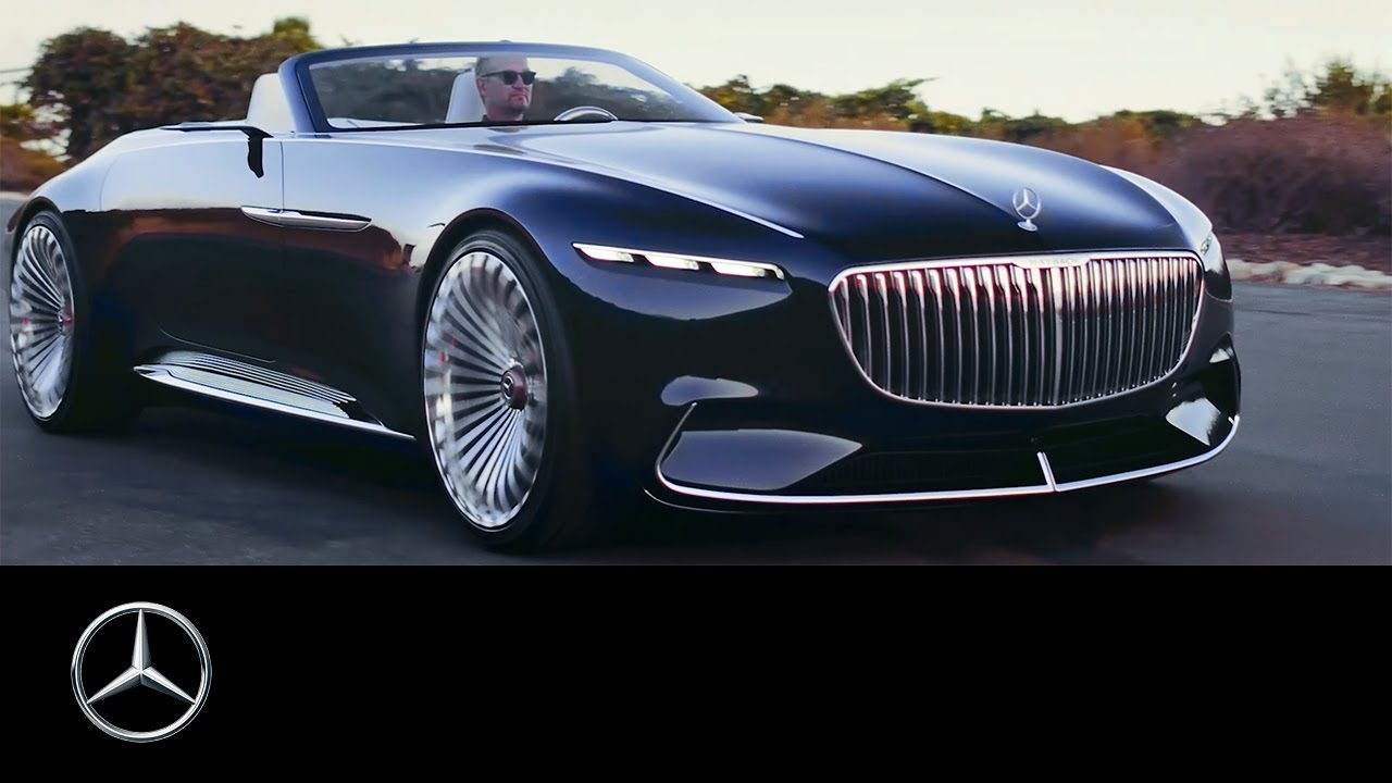 Vision Mercedes Maybach 6 Cabriolet Revelation Of Luxury Trailer
