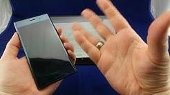 Sony Xperia XZ Premium - Bildschirm schwarz, Keine Reaktion auf knöpfe oder Kabel - mögliche Lösung