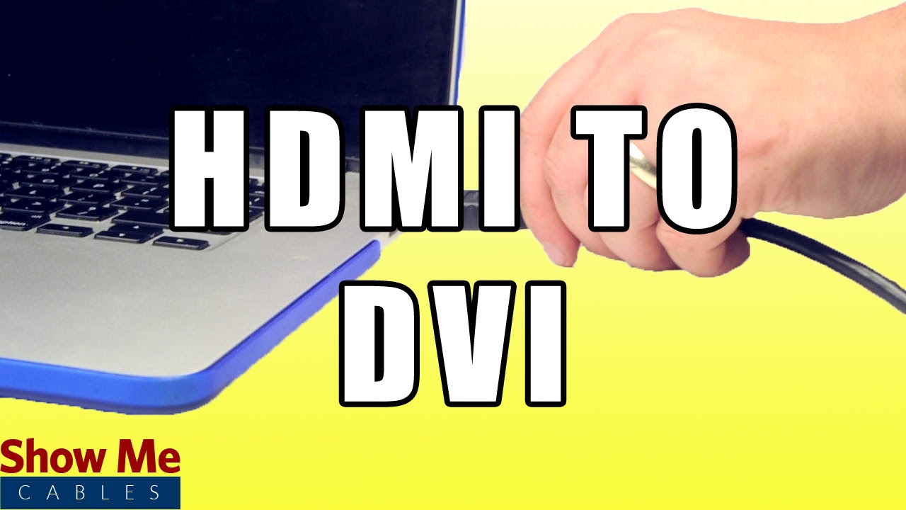 how to connect dvi output to hdmi input