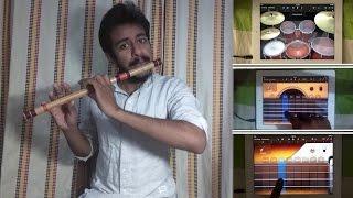 main rahoon ya na rahoon armaan malik amaal mallik bansuri flute ipad cover by nitish mishra
