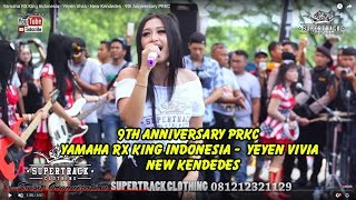 Yamaha RX King Indonesia - Yeyen Vivia - New Kendedes - 9th Anniversary PRKC