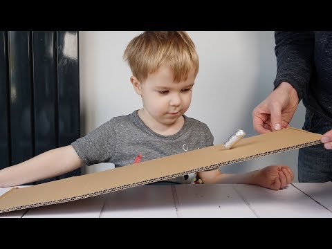 How To Make A Simple Toy From Marble and Foil