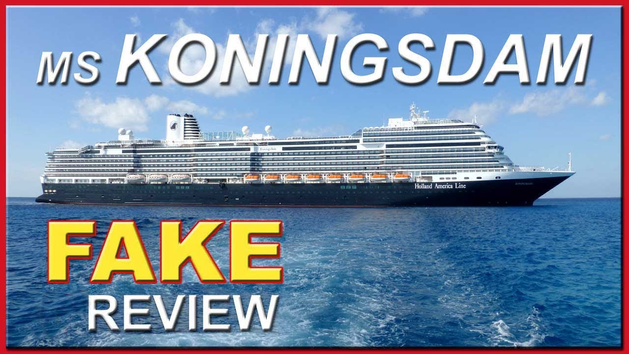 MS Koningsdam Holland America Fake Review By Berlitz Cruising - Best holland america cruise ship