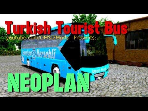 OMSI 2 – Turkish Tourist Bus Made in: NEOPLAN - YouTube