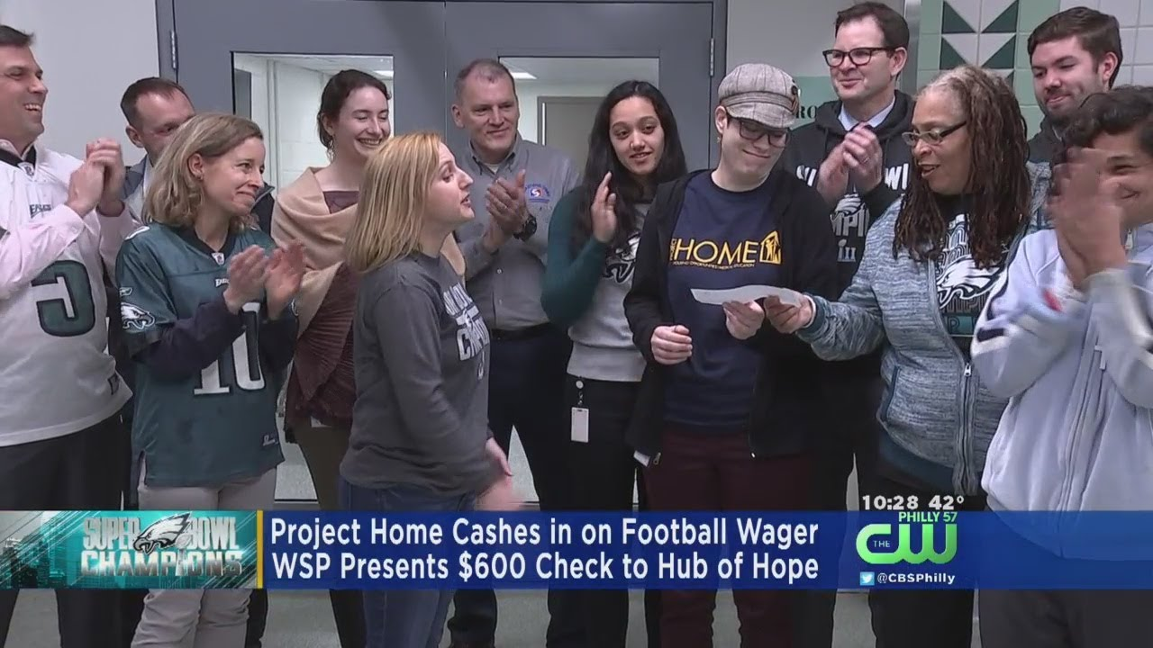 Project Home Cashes In On Football Wager