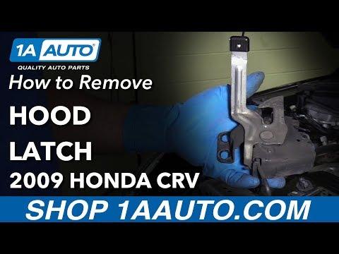 How to Replace Hood Latch 07-11 Honda CR-V