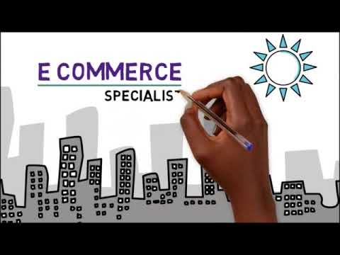 How to develop Skills and  get a job as  E-commerce Specialist