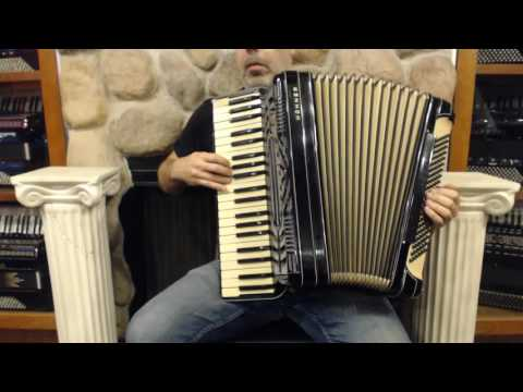 2371 - Vintage Hohner Morino Piano Accordion 41 120 LMMM $1495