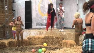 Female Mud Wrestling, Bath v Brighton (Round 3) The Collosillyum Secret Garden Party 2011
