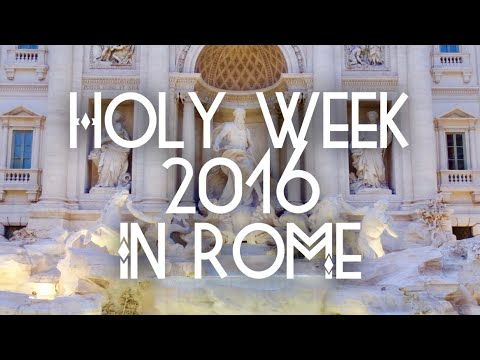 Holyweek in Rome and Vatican City