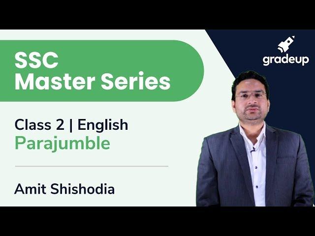 SSC Master Series | English Language | Parajumble | Day 4