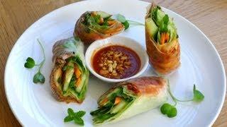 Bulgogi Spring Rolls - Goi Cuon Bo Han Quoc
