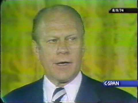 Gerald R. Ford Speech on assuming the Presidency