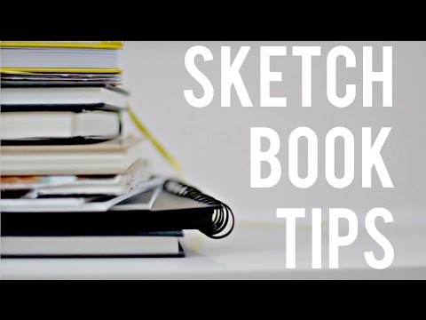 Sketchbook Tips · For Creative Freedom and a Cohesive Look · SemiSkimmedMin