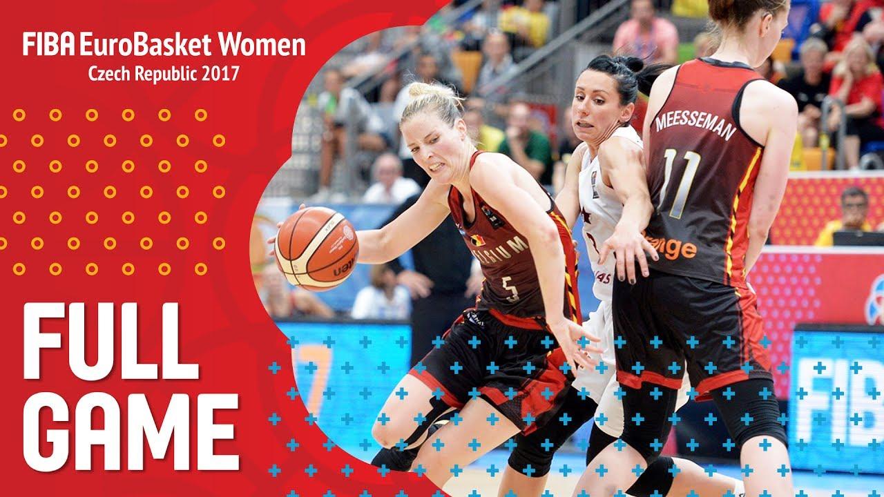 Latvia v Belgium - Full Game - FIBA EuroBasket Women 2017