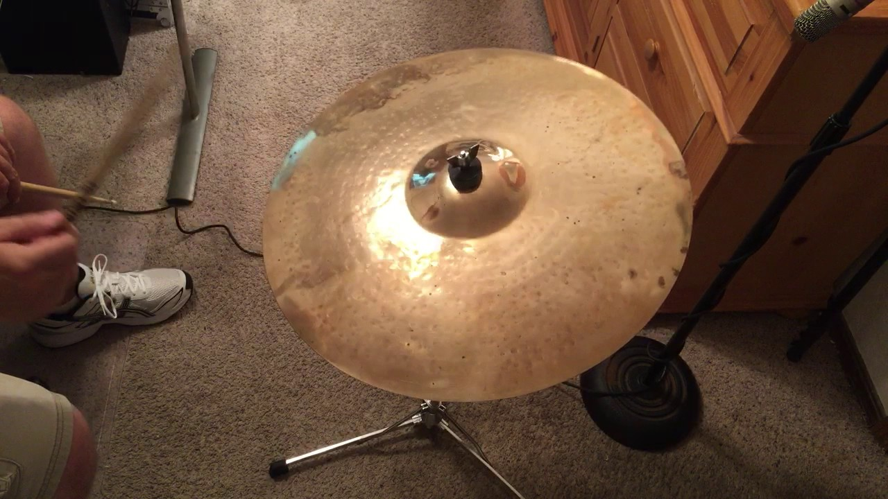 20 Zildjian K Custom Ride Cymbal, Pre-Serial Number - YouTube