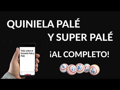 Quiniela Palé y Súper Palé