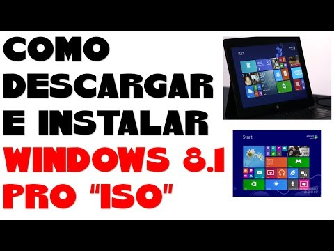 DESCARGAR E INSTALAR WINDOWS 8.1 PRO